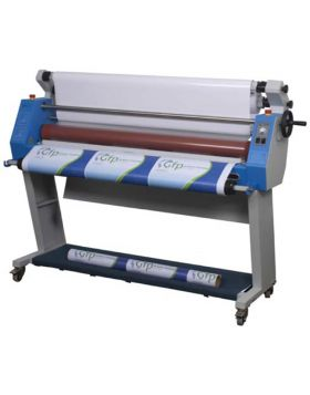 "GFP 255C 55"" Cold Laminator, Stand and Foot Switch included"