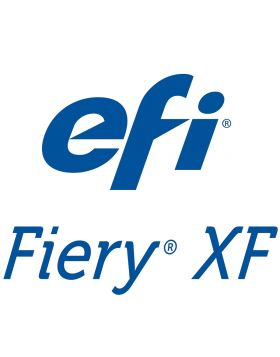 EFI Fiery XF Production License & 1 YR SMSA License configuration: Fiery XF Server, unlimited Clients, Spot Color Option, 1 Printer Option M-XXL