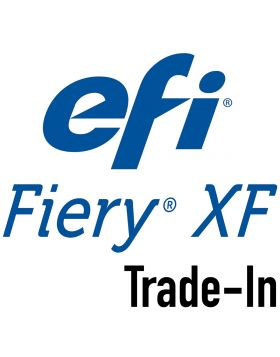 EFI Fiery XF Proofing Trade-In License & 1 YR SMSA From any Best or Colorproof/Fiery XF competitive product  License configuration: Fiery XF Server, unlimited Clients, Color Verifier Option, Spot Color Option, 1 Printer Option M-XXL