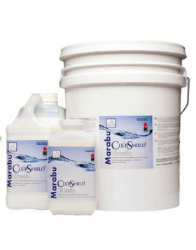 Marabu Clear Shield Type CLL -  Gloss 55-Gallon Drum - Use over water-resistant canvas and giclee applications that are coated on  the Star Lam roll-to-roll liquid laminator or other automated liquid laminators.