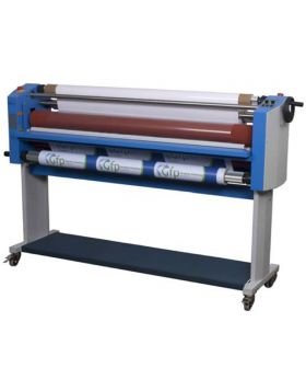 """GFP 363TH 63"""" Top Heat Laminator Stand, Foot Switch & Rewind included"""
