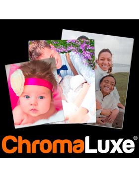 """UW  CHROMALUXE® ALUMINUM PHOTO PANELS - Clear Gloss 30"""" x 40"""" PHOTO PANEL SHIPPED ON SKID w/DUNNAGE, Substrate: Aluminum, 0.045 Thick, Case of 10"""
