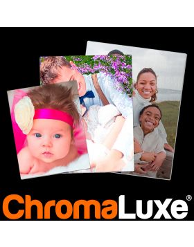 """UW  CHROMALUXE® Extended Live UV ALUMINUM PHOTO PANELS - White Gloss 30"""" x 40"""" PHOTO PANEL SHIPPED ON SKID w/DUNNAGE, Substrate: Aluminum, 0.045 Thick, Case of 10"""