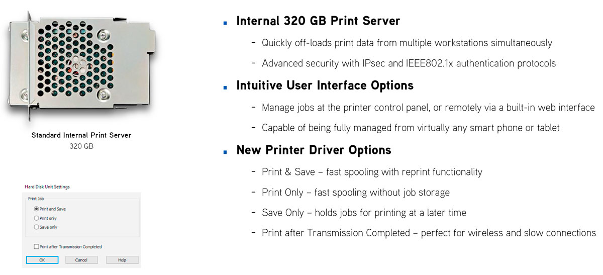 epson surecolor p10000 printer with internal print server